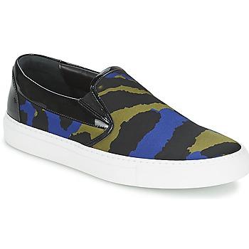 Obuća Žene  Slip-on cipele Sonia Rykiel Sonia By - Sketch201 Crna / Blue / Kaki