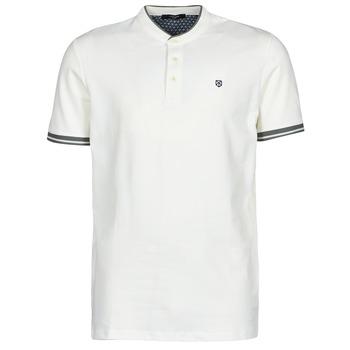 Odjeća Muškarci  Polo majice kratkih rukava Jack & Jones JPRBLASTRETCH Bijela