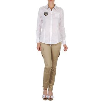 Odjeća Žene  Hlače s pet džepova Napapijri MYOSA Bež