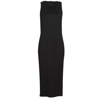 Odjeća Žene  Kratke haljine Karl Lagerfeld KITTED WRAP DRESS Crna