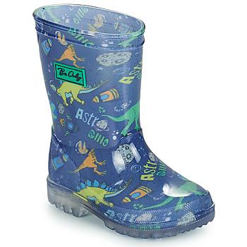 Obuća Dječak  Gumene čizme Be Only DINO FLASH Blue / Zelena