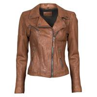 Odjeća Žene  Kožne i sintetičke jakne Oakwood CLIPS 6 Smeđa
