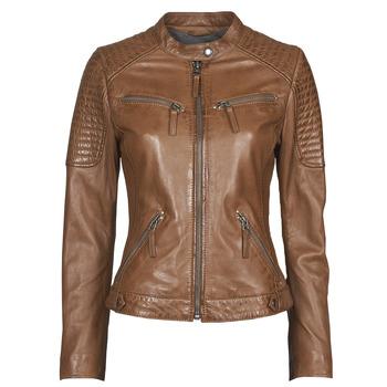 Odjeća Žene  Kožne i sintetičke jakne Oakwood HILLS6 Boja konjaka
