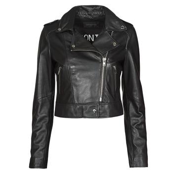 Odjeća Žene  Kožne i sintetičke jakne Oakwood NIKKO Crna