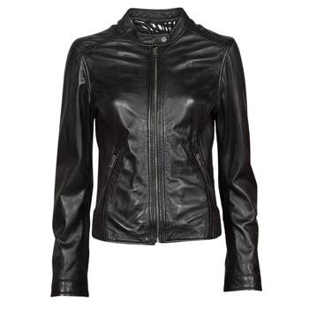 Odjeća Žene  Kožne i sintetičke jakne Oakwood KARINE Crna