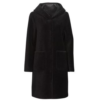 Odjeća Žene  Kaputi Oakwood ANGELIQUE Crna