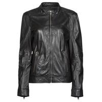 Odjeća Žene  Kožne i sintetičke jakne Oakwood DUBLIN Crna