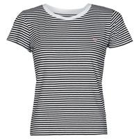 Odjeća Žene  Majice kratkih rukava Guess ES SS GUESS LOGO BABY TEE Crna / Bijela