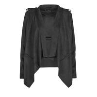 Odjeća Žene  Kožne i sintetičke jakne Guess SOFIA JACKET Crna