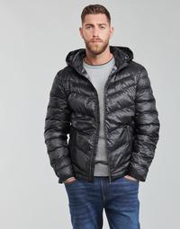 Odjeća Muškarci  Pernate jakne Guess SUPER LIGHT PUFFA JKT Crna