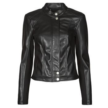 Odjeća Žene  Kožne i sintetičke jakne Guess FIAMMETTA JACKET Crna
