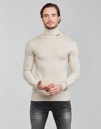 Odjeća Muškarci  Puloveri Guess LANE BASIC TURTLE NECK Bijela