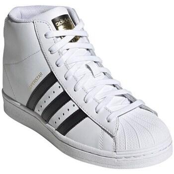 Obuća Žene  Visoke tenisice adidas Originals Superstar UP W Bijela