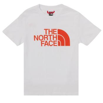 Odjeća Dječak  Majice kratkih rukava The North Face EASY TEE SS Bijela