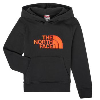 Odjeća Dječak  Sportske majice The North Face DREW PEAK HOODIE Crna