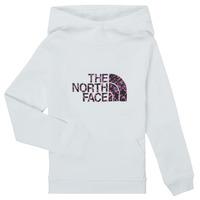Odjeća Djevojčica Sportske majice The North Face DREW PEAK HOODIE Bijela