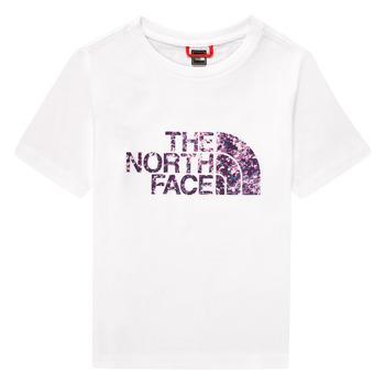 Odjeća Djevojčica Majice kratkih rukava The North Face EASY BOY TEE Bijela