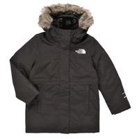 Odjeća Djevojčica Parke The North Face ARCTIC SWIRL PARKA Crna
