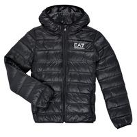 Odjeća Dječak  Pernate jakne Emporio Armani EA7 ANISTA Crna