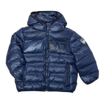 Odjeća Dječak  Pernate jakne Emporio Armani EA7 TREDA Blue