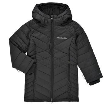 Odjeća Djevojčica Pernate jakne Columbia HEAVENLY LONG JACKET Crna