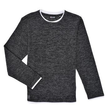 Odjeća Dječak  Majice dugih rukava Deeluxe MONAN Crna