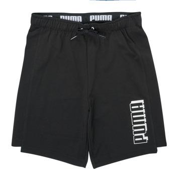 Odjeća Dječak  Bermude i kratke hlače Puma ALPHA SHORT Crna
