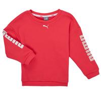 Odjeća Djevojčica Sportske majice Puma ALPHA CREW SWEAT Ružičasta