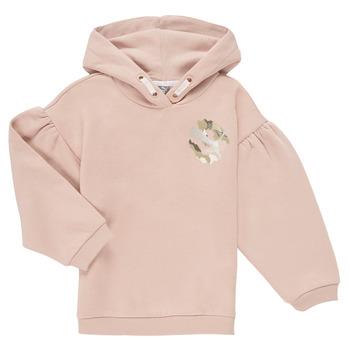 Odjeća Djevojčica Sportske majice Puma ALPHA HOODIE Ružičasta
