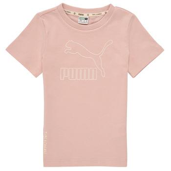 Odjeća Djevojčica Majice kratkih rukava Puma T4C TEE Ružičasta