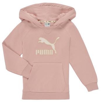 Odjeća Djevojčica Sportske majice Puma T4C HOODIE Ružičasta