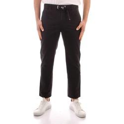 Odjeća Muškarci  Chino hlačei hlače mrkva kroja Refrigiwear GA9103-P24800 BLACK