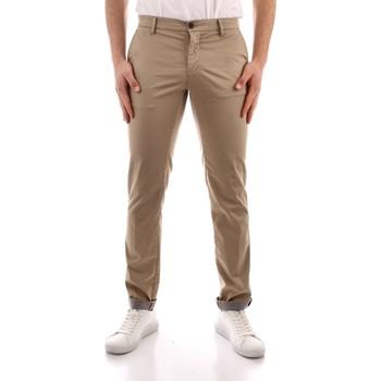 Odjeća Muškarci  Chino hlačei hlače mrkva kroja Powell MBE097 WHITE