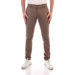Odjeća Muškarci  Chino hlačei hlače mrkva kroja Powell CBE412 WHITE