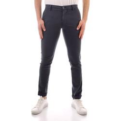 Odjeća Muškarci  Chino hlačei hlače mrkva kroja Powell MBE100 WHITE