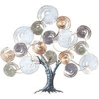 Dom Umjetne biljke Signes Grimalt Ornament lišća zidnog stabla Multicolor