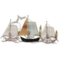 Dom Slike i platna Signes Grimalt Ornament zida čamca Marrón