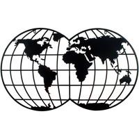 Dom Slike i platna Signes Grimalt Adorno Zid Negro