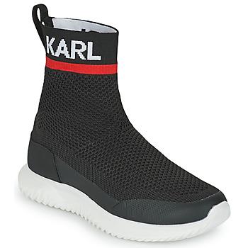 Obuća Dječak  Visoke tenisice Karl Lagerfeld PELINDRA Crna