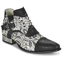 Obuća Muškarci  Derby cipele New Rock M-NW135-C12 Bijela / Crna