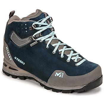 Obuća Žene  Pješaćenje i planinarenje Millet G TREK 3 GORETEX Zelena / Blue