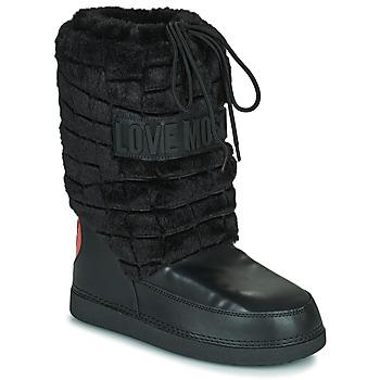 Obuća Žene  Čizme za snijeg Love Moschino JA24232G0D Crna