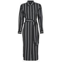 Odjeća Žene  Duge haljine Lauren Ralph Lauren RYNETTA-LONG SLEEVE-CASUAL DRESS Crna