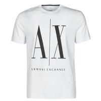 Odjeća Muškarci  Majice kratkih rukava Armani Exchange HULO Bijela