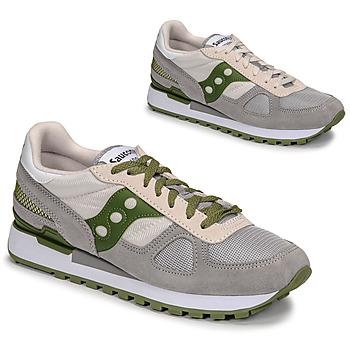 Obuća Muškarci  Niske tenisice Saucony SHADOW ORIGINAL Siva / Zelena