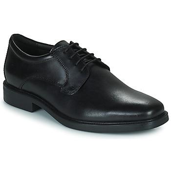 Obuća Muškarci  Derby cipele Geox BRANDOLF Crna