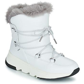 Obuća Žene  Čizme za snijeg Geox FALENA ABX Bijela