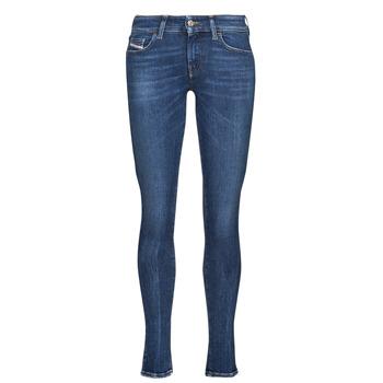 Odjeća Žene  Skinny traperice Diesel SLANDY-LOW Blue / Zagasita