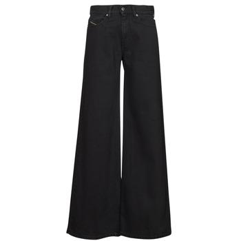 Odjeća Žene  Bootcut traperice Diesel D-AKEMI Crna