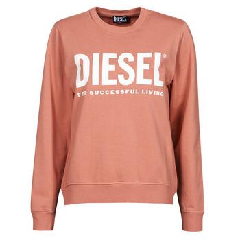 Odjeća Žene  Sportske majice Diesel F-ANGS-ECOLOGO Ružičasta
